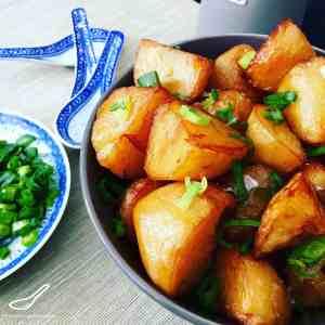 Chinese Roast Potatoes