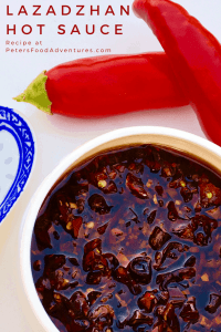 If you love Sriracha, you will Love Laza Hot Sauce, or Lazadzhan. Enjoy it with stir fry, dumplings or anything that needs a chili garlic flavour explosion! Laza Hot Sauce or Lazadzhan (Лазаджан)