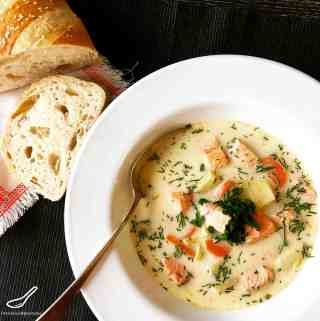 Finnish Fish Soup (Финская уха)