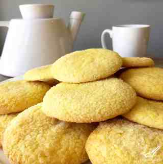 Russian Sugar Cookies (Сахарное печенье)