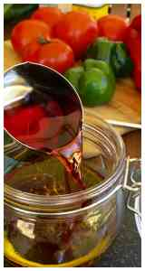 Making Greek Salad Dressing from scratch