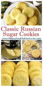 Everyone loves a Sugar Cookie, these are no exception! The perfect mix of buttery goodness, with eggs, vanilla and sugar, just like babushka made. Perfect with a cup of tea or glass of milk. - Russian Sugar Cookies (Сахарное печенье)