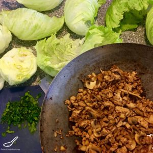 Simple and delicious, Easy San Choy Bow or Asian Chicken Lettuce Wraps are a classic Chinese meal that the whole family loves. Low carb and healthy.