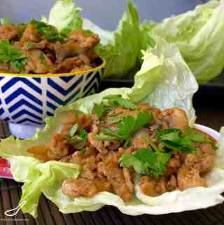 San Choy Bow – Asian Chicken Lettuce Wraps