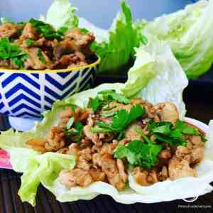 Asian Lettuce Wraps (San Choy Bow)