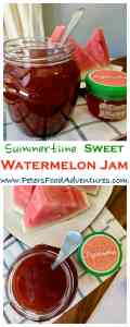 Authentic Russian Watermelon Jam without pectin, usually enjoyed with a cup of tea - Watermelon Jam (Варенье из арбуза )