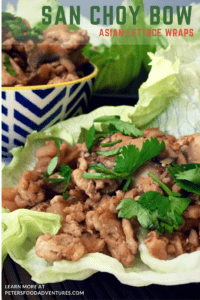 Simple and delicious, Easy San Choy Bow or Asian Lettuce Cups are a classic Chinese meal that the whole family loves. Low carb and healthy.