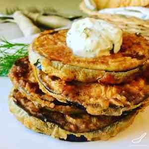 Fried Eggplant Slices (Жареные баклажаны)