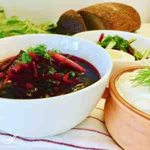 Svekolnik Cold Beet Soup