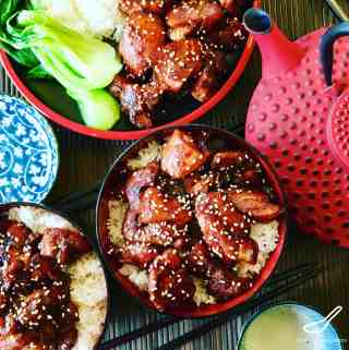 Teriyaki Chicken is an authentic Japanese classic, healthy and easy to make with soy sauce, sake, mirin and sugar. Ready to grill, bbq, pan fry or add to a stir fry - Easy Chicken Teriyaki Recipe