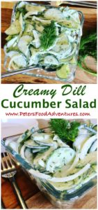 Sour Cream Cucumber Salad is super easy to make, only takes minutes, and so delicious. This Eastern European classic has roots in Poland. The simple cucumbers and sour cream salad with fresh dill and onions is also known as Mizeria.