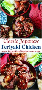 Easy Chicken Teriyaki is an authentic Japanese classic, healthy and easy to make with soy sauce, sake, mirin and sugar. Ready to grill, bbq, pan fry or add to a stir fry - Easy Chicken Teriyaki Recipe