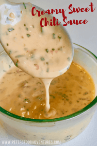 Creamy Sweet Chili Sauce
