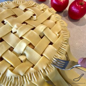 This Classic Apple Pie is a family favorite! As American as Apple Pie, made with fresh apples, brown sugar, cinnamon with a shortcrust lattice pastry. This will be the only apple pie recipe you'll need!