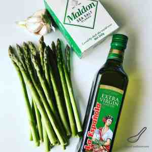 Garlic Roasted Asparagus Recipe