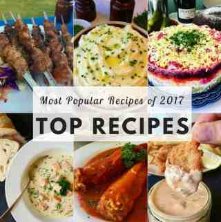 Top Recipes of 2017 from PetersFoodAdventures.com