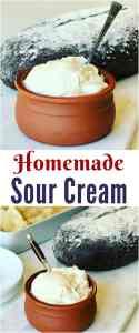 Homemade Sour Cream (Сметана)
