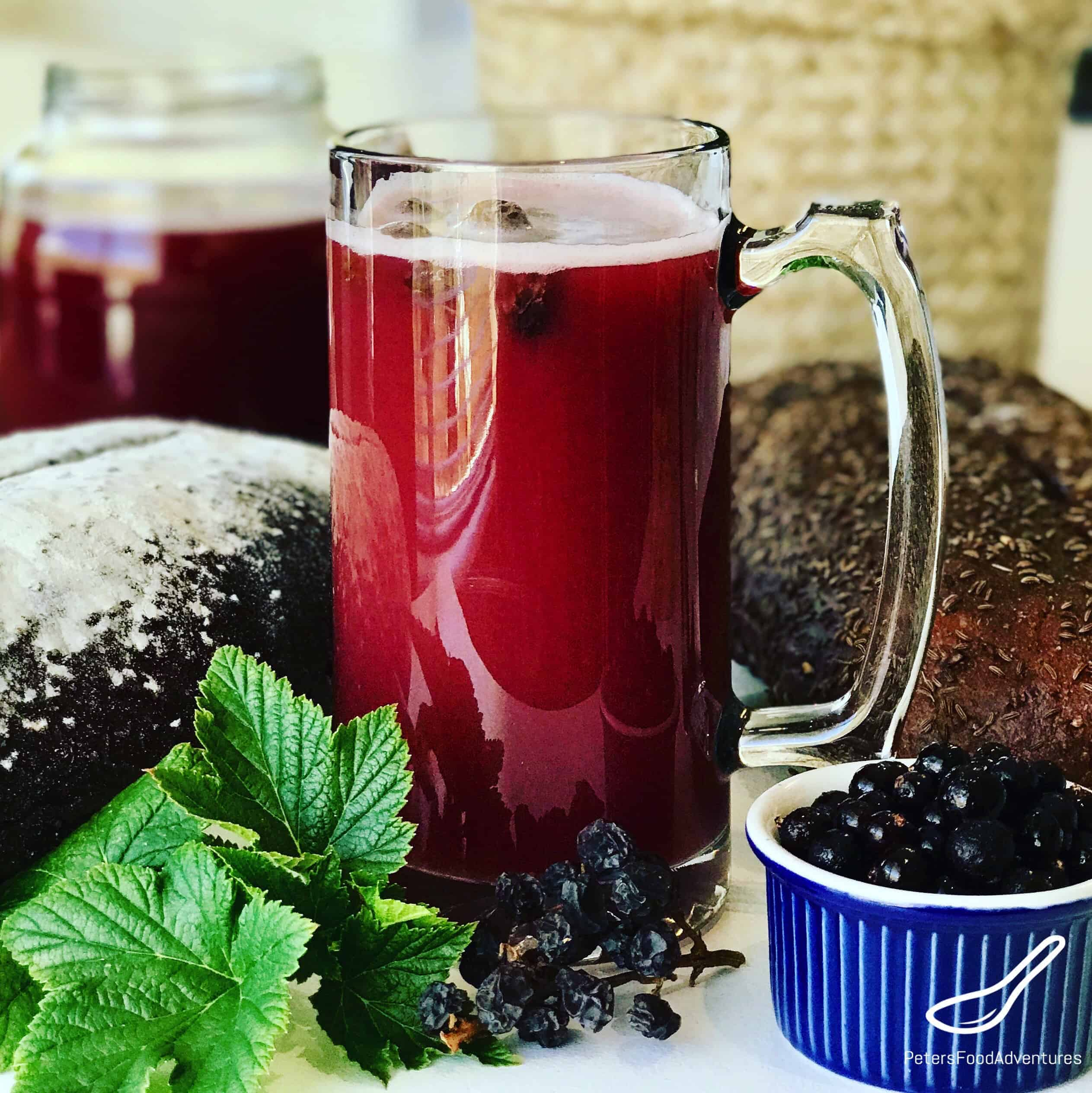 The best recipes of kvass from black bread 77