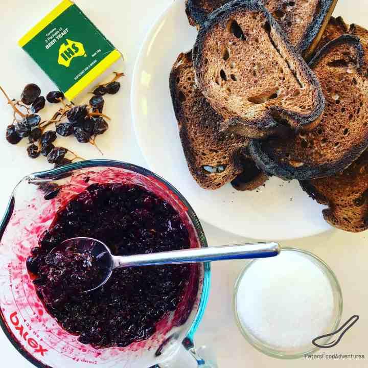 Kvass with Blackcurrants preparation
