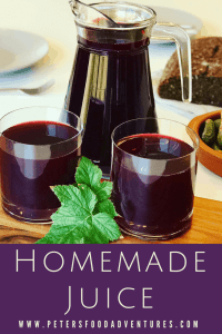 Homemade Juice