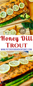Honey Grilled Trout Fillet