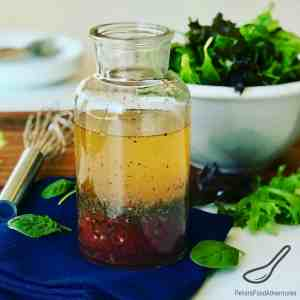 Homemade Zesty Italian Dressing Recipe