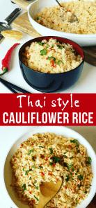 Thai Cauliflower Rice