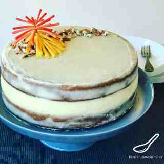 A classic southern cake made from bananas, pineapples, coconuts and pecans. A Naked Cake with Vanilla Bean Cream Cheese frosting, you're gonna love this tropical cake.