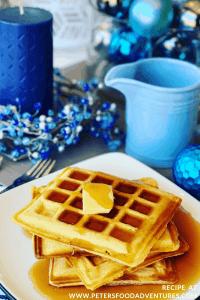 Eggnog Waffles Recipe