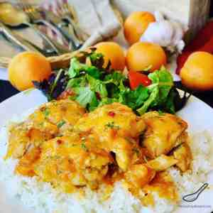 Apricot Chicken in a Slow Cooker