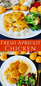 Fresh Apricot Chicken