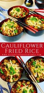 Cauliflower Fried Rice Keto