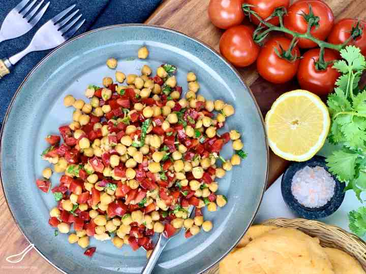 Roasted Chickpea Salad Recipe