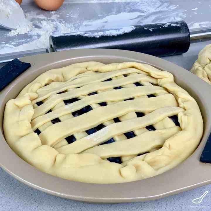 Uncooked Lattice Pie