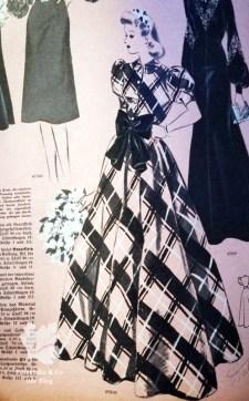 Pramo 40er, Praktische Mode, Vintage Kleid, Schnitt