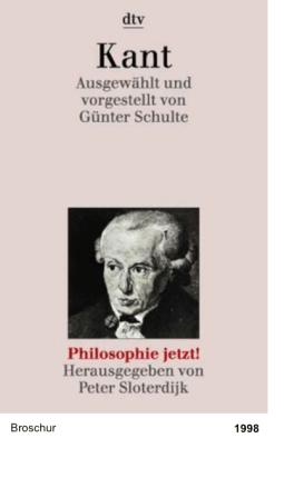 Philosophie jetzt!: Kant