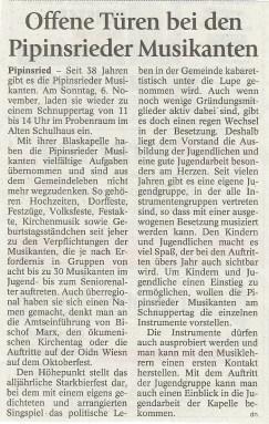Pipinsrieder Musikanten Schnuppertag_1