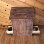 Purchase Wooden Dog Food Storage Cabinet Up To 73 Off