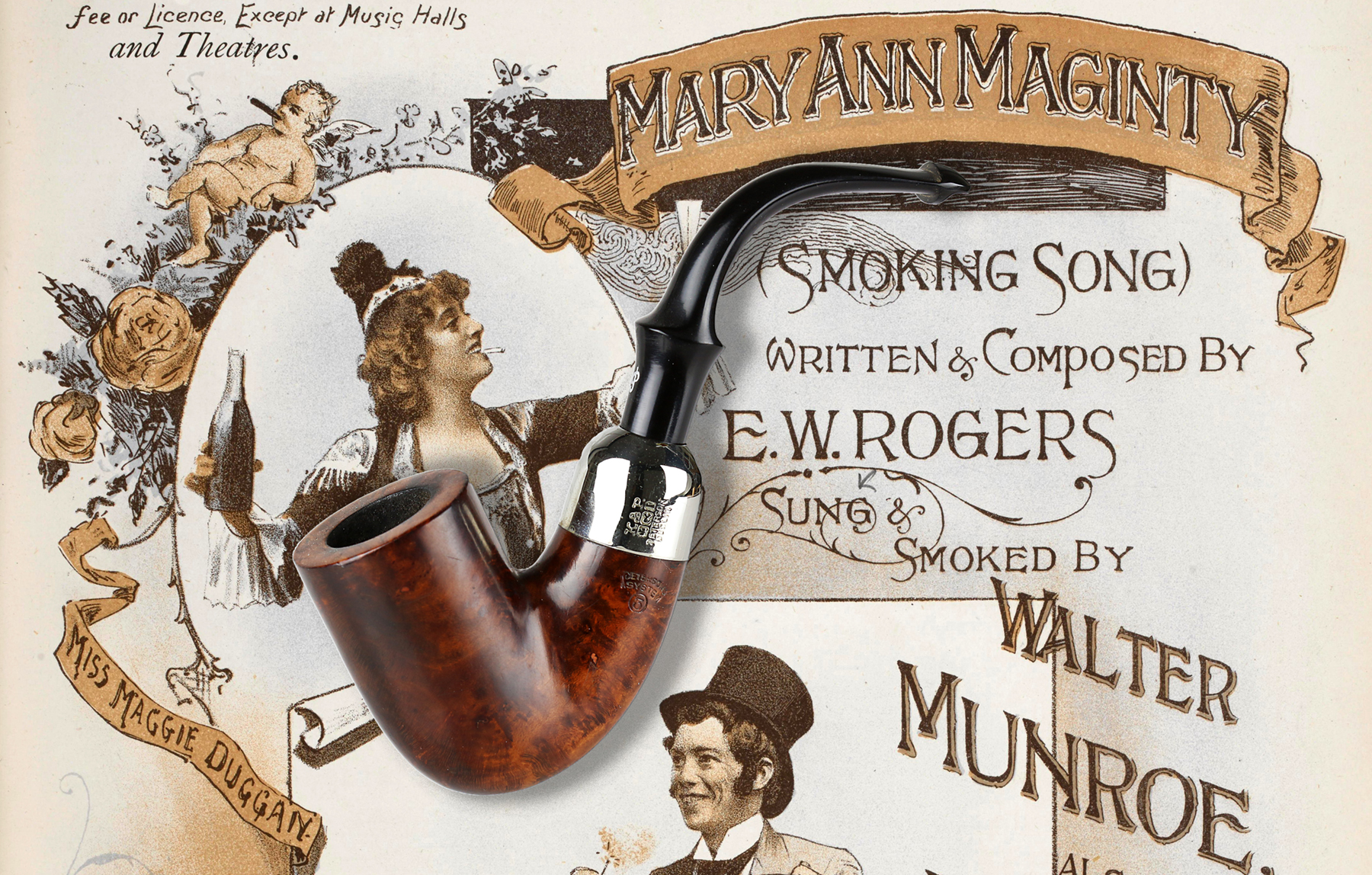 "203. K&P on the London Stage, 1893: ""Mary Ann Maginty (Smoking Song)"""