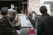 Drew Peterson at home before vigil