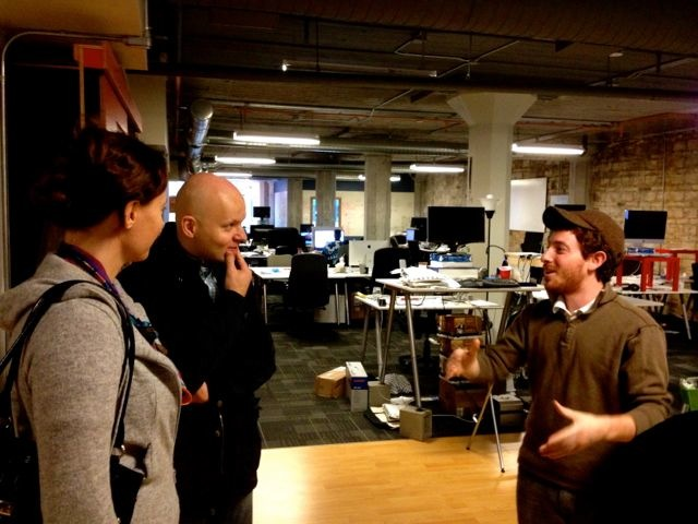 Meeting with Red Russak at StartupSeattle
