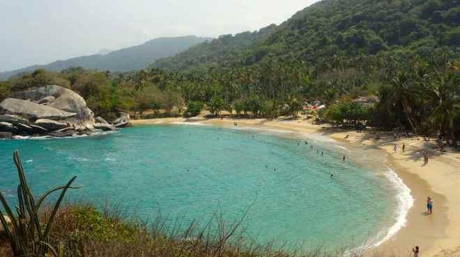 Parque Tayrona, Bucht von Cabo San Juan