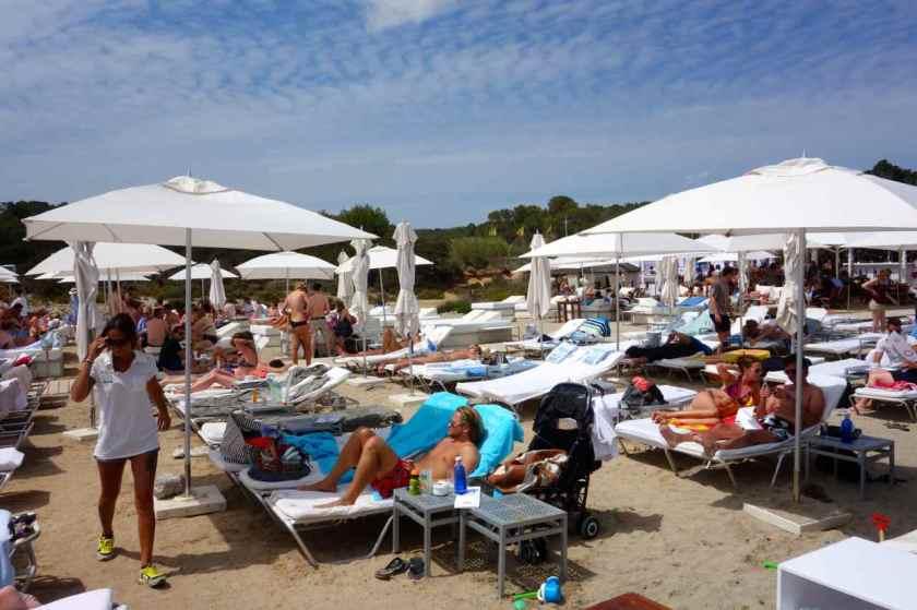 Ibiza Tipps, Beachclub Blue Marlin, Cala Jondal