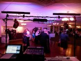 """Another """"DJ-eye view"""" of the floor, the lights look much better in this photo!"""