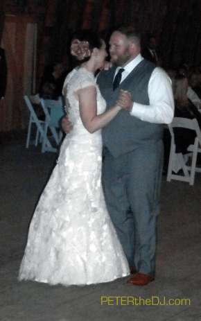 Rina and Jeff's first dance