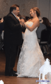 Bride/father dance: Stephanie & Larry's wedding reception at Hart's Hill Inn, Whitesboro, NY - August 2017