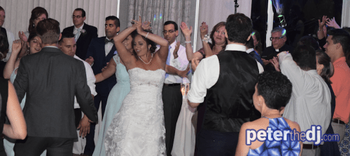 Dabke dance: Stephanie & Larry's wedding reception at Hart's Hill Inn, Whitesboro, NY - August 2017