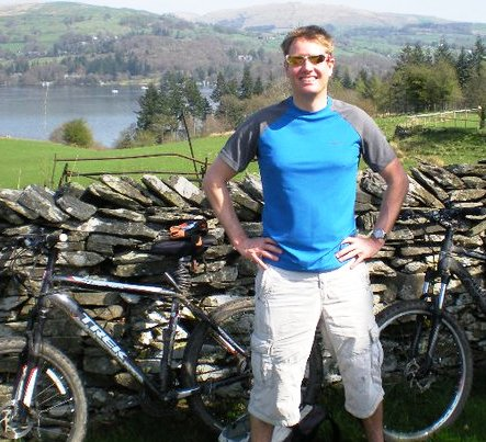 Cycling around the Lake District, England