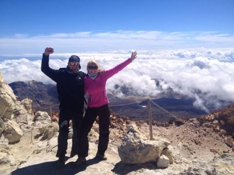 The summit - Mt. Teide, Tenerife