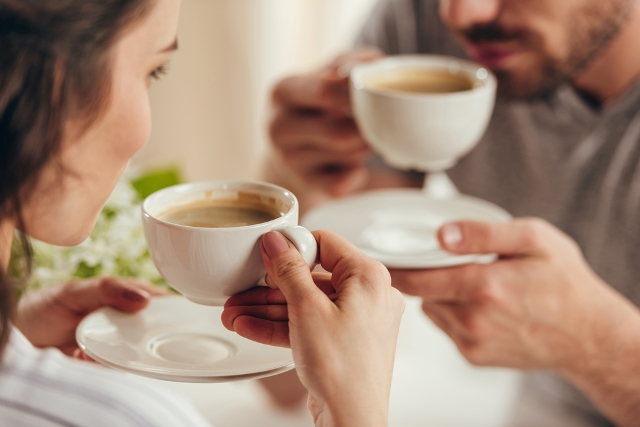 drinking coffee for improved health